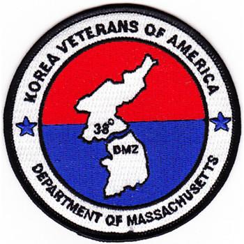 Korea Veterans Of America Patch Department Of Massachusetts