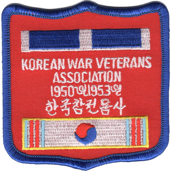 Korea Veterans Association Patch 1950-1953 - A Version
