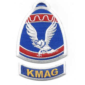 Korean Military Advisory Group Patch