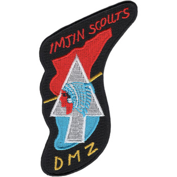 Korea Imjin Scouts Patch DMZ Black Border
