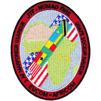 JTF Nomad Fire Soceur Naveur Eucom Africom Patch