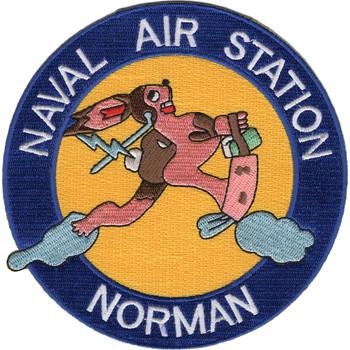 Naval Air Station Nas Norman Oklahoma Patch