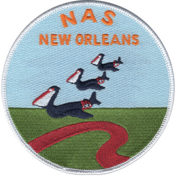 Naval Air Station NAS New Orleans, Louisiana Patch WWII