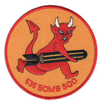 535th Bomb Squadron Patch
