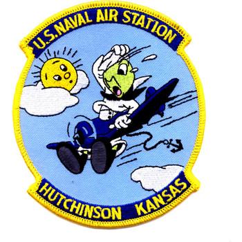 Naval Air Station Hutchinson Kansas Patch