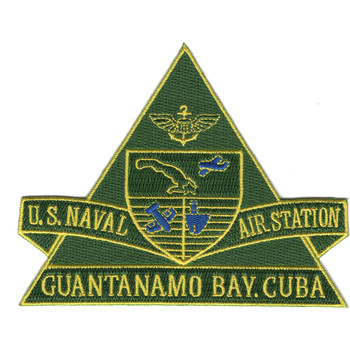 Naval Air Station Guantanamo Bay Cuba Patch