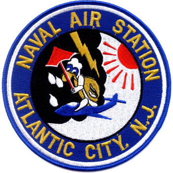 Naval Air Station Atlantic City New Jersey Patch