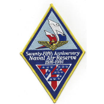 Naval Air Reserve Seventy-Fifth Anniversary 1961-1991 Patch