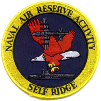 Naval Air Reserve Activity Michigan Patch