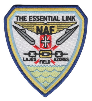 Naval Air Lajes Azores Portugal Patch