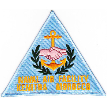 Naval Air Facility Kenitra Morocco Patch