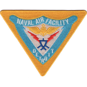 Naval Air Facility Detroit Michigan Patch