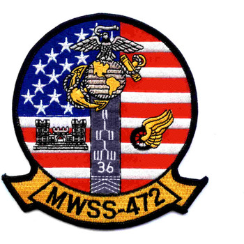MWSS-472 Wing Support Squadron Patch