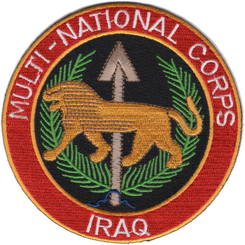 Multi-National Corps Patch Iraq Color