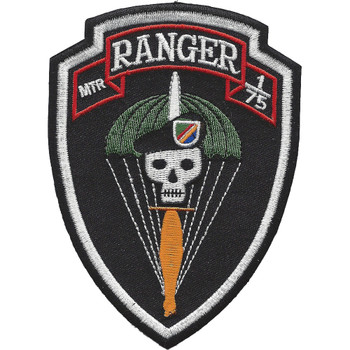 MTR Company 1st Battalion 75th Ranger Regiment Patch