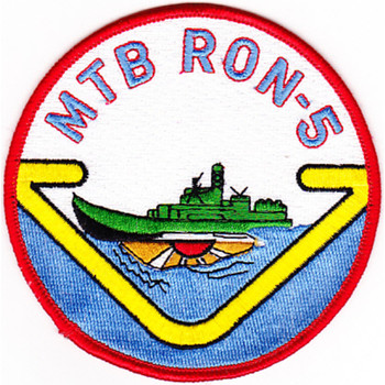 Mtbron-5 Motor Torpedo Boat Squadron 5 Patch
