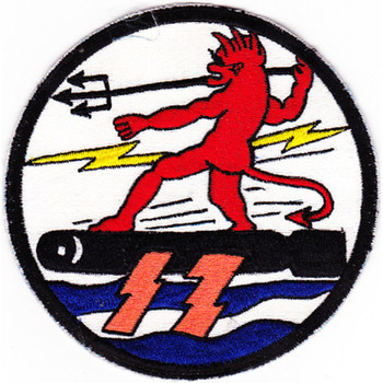 Mtbron-17 Motor Torpedo Boat Squadron 17 Patch Devil