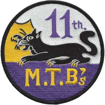 MTBRON 11 Motor Torpedo Squadron Patch