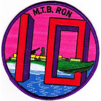 Mtbron-10 Motor Torpedo Boat Squadron 10 Patch