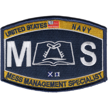 MS Mess Management Specialist Rating Patch