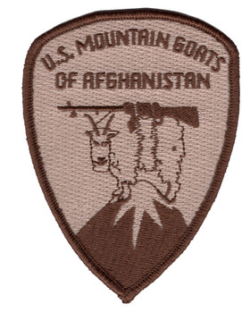 Mountain Goats of Afghanistan Desert Patch