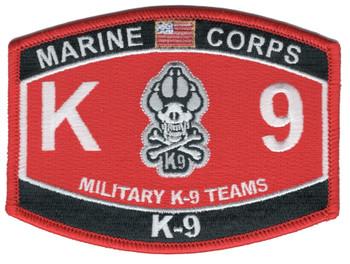 MOS-Marine Corps K-9 TEAMS