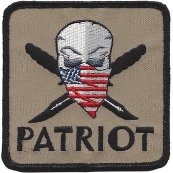 Modern Patriot Pirate Patch Hook & Loop