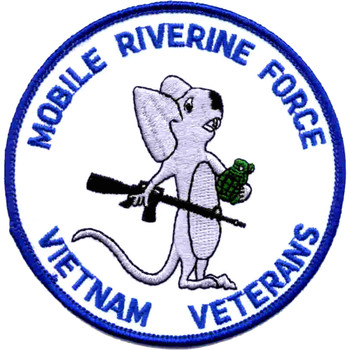 Mobile Riverine Force Vietnam Veterans Patch