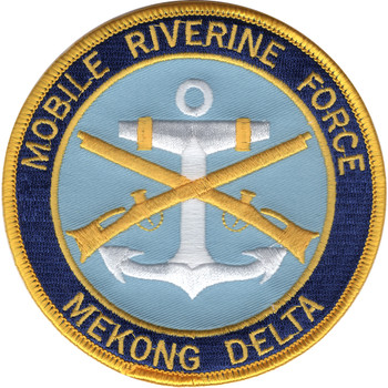 Mobile Riverine Force Patch - Mekong Delta