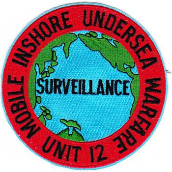 Miuwu-12 Mobile Inshore Undersea Warfare Unit Twelve Patch