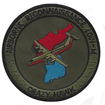 Military Intelligence Aviation Airborne Recon Low-M Patch OD