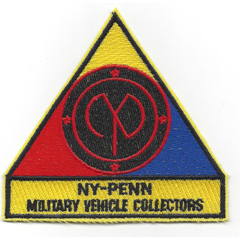 Military Vehicle Collectors Patch