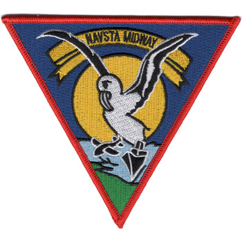 Midway Naval Station North Pacific Patch