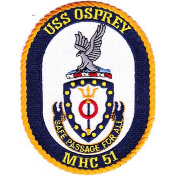 MHC-51 USS Osprey Patch