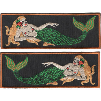 Mermaid Liberty Cuff Patch (Pair)