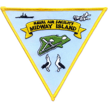 Midway Island Naval Air Facility Patch