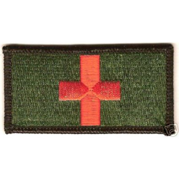 Medic Red Cross Patch OD