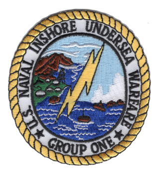 IUWG-1 Naval Inshore Undersea Warfare Group One Patch