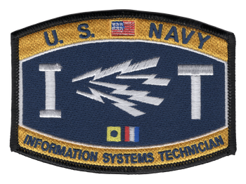 Information Systems Technician Rating Patch