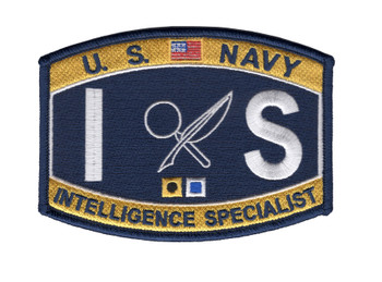 IS Administration And Technical Specialty Rating Intelligence Specialists Patch