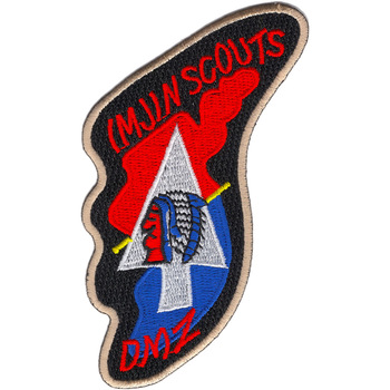 Imjin Scouts Patch DMZ