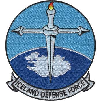 Iceland Defense Force Patch