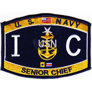 ICCS Interior Communications Electrician Senior Chief Petty Officer Patch