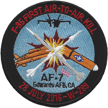 F-35 Air To Air Kill Patch