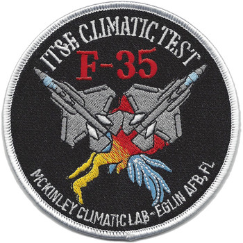 F-35-IT&E Climate Test Patch