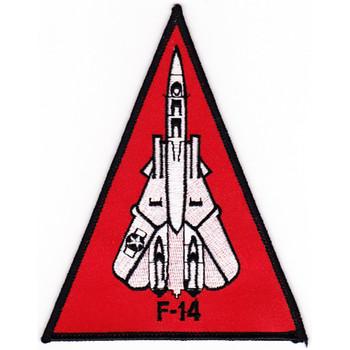 F-14 Grumman Tomcat Triangle Patch