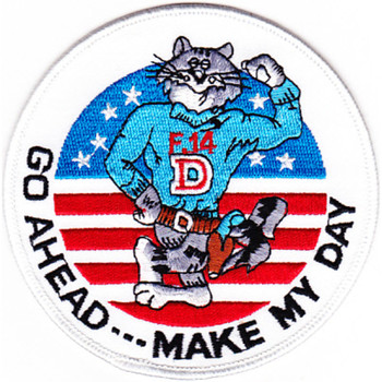 F-14D Tomcat Patch Go Ahead Make My Day