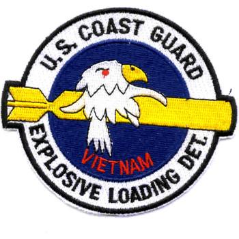 Explosive Loading Detachment Patch Vietnam
