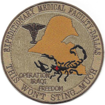 Expeditionary Medical Facility - Dallas Patch