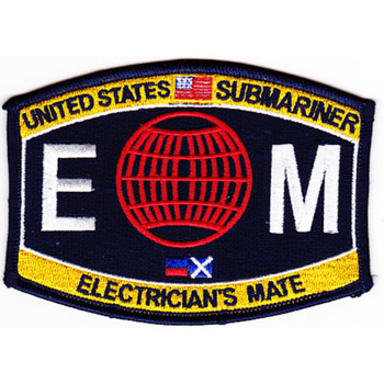 Engineering Submarine Rating Electrician's Mate Patch
